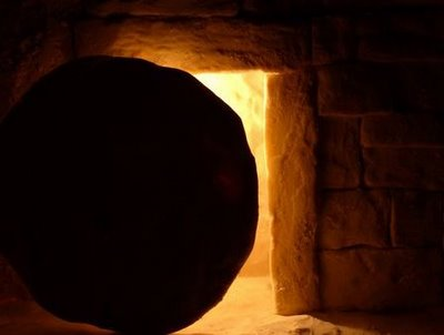 light from inside the tomb, courtesy www.atheistmissionary.com